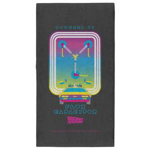 Back to the Future Flux Capacitor Pattern - Fitness Towel