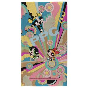 The Powerpuff Girls Colourful - Fitness Towel