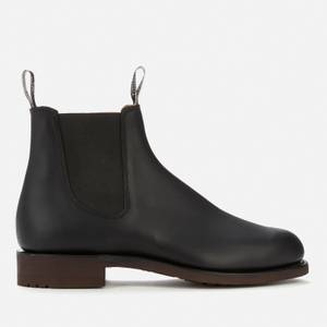 R.M. Williams Men's Gardener Leather Chelsea Boots - Black