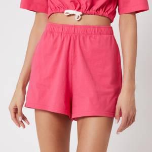 Les Girls Les Boys Women's Jersey Apparel Loose Shorts - Raspberry