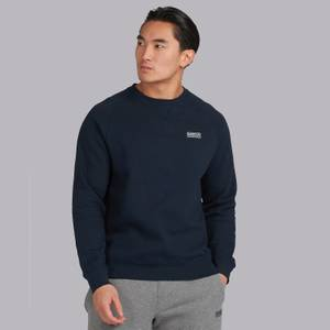 Barbour International Men's Essential Crew Sweatshirt - Traditional Navy
