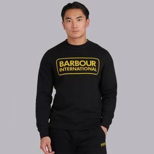 Barbour International Men's Large Logo Sweatshirt - Black