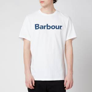 Barbour Men's Logo T-Shirt - White