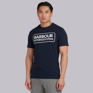 Barbour International Men's Essential Large Logo T-Shirt - International Navy