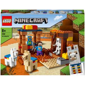 LEGO Minecraft: The Trading Post Building Set (21167)