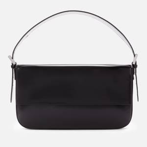 BY FAR Women's Manu Semi Patent Bag - Black