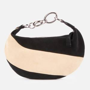 BY FAR Women's Bougie Shoulder Bag - Black & Oat