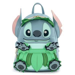 Loungefly Disney Stitch Luau Cosplay Mini Backpack