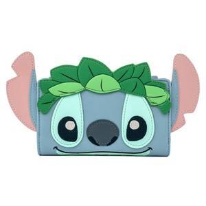 Loungefly Disney Stitch Luau Cosplay Bifold Wallet