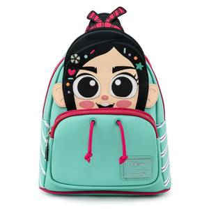Loungefly Disney Wreck IT Ralph Vanellope Cosplay Mini Backpack