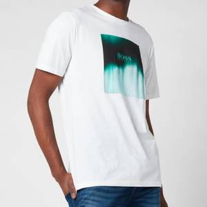 BOSS Casual Men's Tiris 1 T-Shirt - White