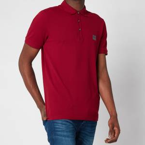 BOSS Casual Men's Passenger Polo Shirt - Dark Red