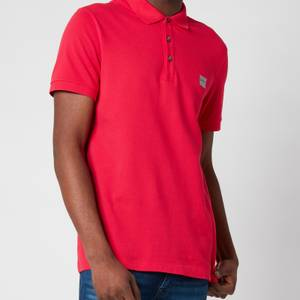 BOSS Casual Men's Passenger Polo Shirt - Medium Pink