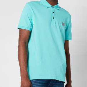 BOSS Casual Men's Passenger Polo Shirt - Turquoise/ Aqua