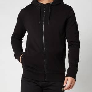 BOSS Casual Men's Zounds 1 Zipped Hoodie - Black