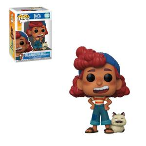 Disney Luca Giulia Marcovaldo with Machiavelli Funko Pop! Vinyl