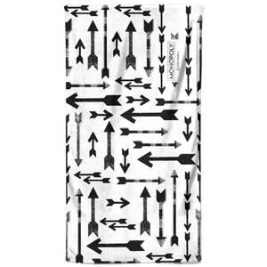 Monopoly Arrows Pattern Bath Towel