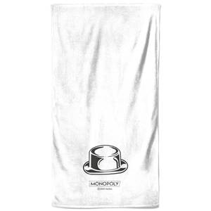 Monopoly Hat Figure Bath Towel