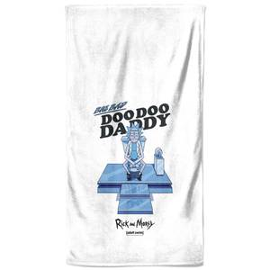 Rick and Morty Doo Doo Daddy Bath Towel