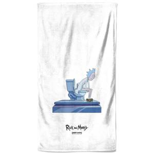 Rick and Morty King Of Shit Toilet Bath Towel