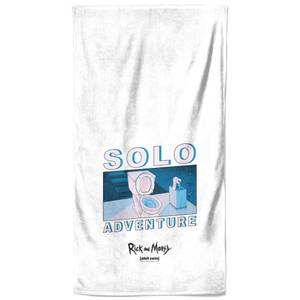 Rick and Morty Solo Adventure Bath Towel
