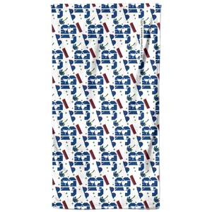 Johnny Bravo Pattern Bath Towel