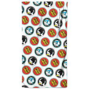 Johnny Bravo Badges Bath Towel