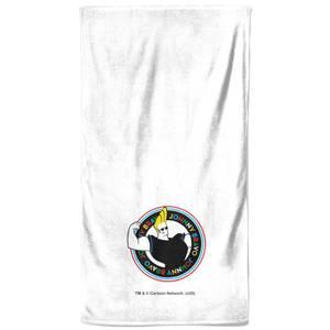 Johnny Bravo Bath Towel