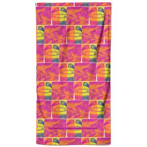 Jurassic Park Bright Dino Strip Bath Towel
