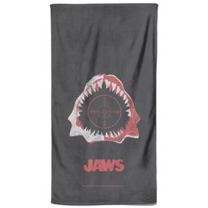Jaws Print Bath Towel