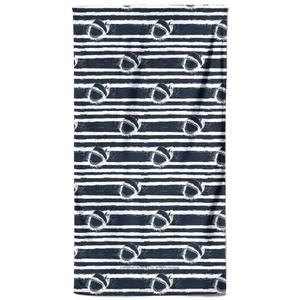 Jaws Stripes Bath Towel