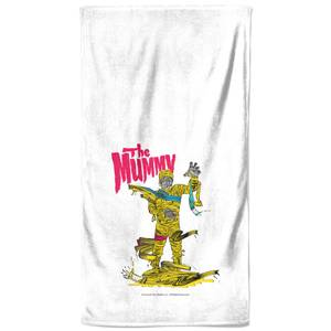 Universal Monsters The Mummy Bath Towel