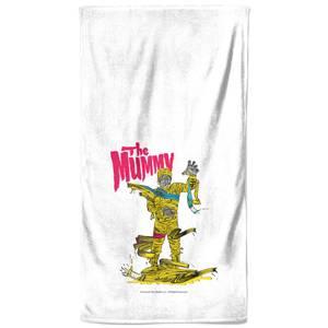 Universal Monsters The Mummy Bath Towel
