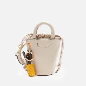 See by Chloé Women's Cecilya Mini Bucket Bag - Cement Beige