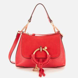 See by Chloé Women's Mini Joan Cross Body Bag - Red Flame