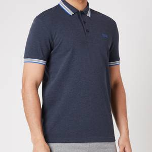 BOSS Athleisure Men's Paddy Pique Polo Shirt - Medium Blue