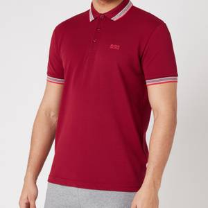BOSS Athleisure Men's Paddy Pique Polo Shirt - Dark Red