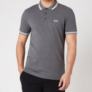 BOSS Athleisure Men's Paddy Pique Polo Shirt - Medium Grey