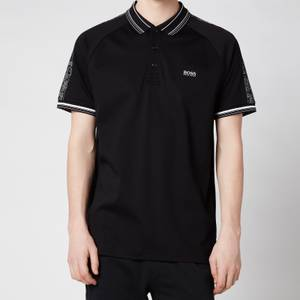 BOSS Athleisure Men's Paddy 4 Polo Shirt - Black