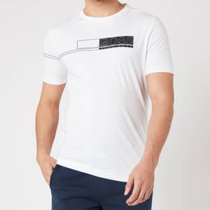 BOSS Athleisure Men's Tee 1 T-Shirt - White