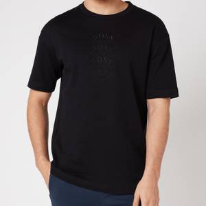BOSS Athleisure Men's Talboa Multi T-Shirt - Black