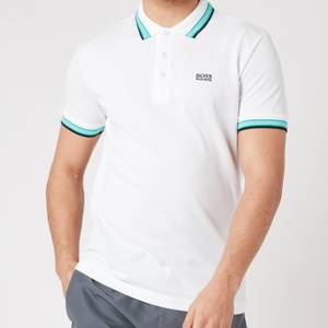 BOSS Athleisure Men's Paddy Pique Polo Shirt - White