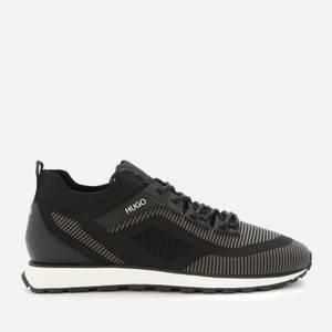 HUGO Men's Icelin Mes Running Style Trainers - Black