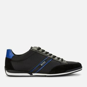 BOSS Athleisure Men's Saturn Low Trainers - Black
