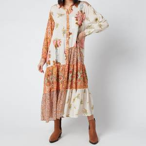 Free People Women's Days of Ditzies Dress - Warm Combo