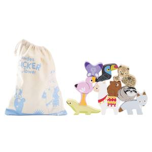 Le Toy Van Petilou Andes Stacker Tower and Bag