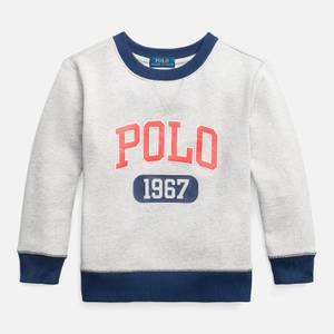 Polo Ralph Lauren Boys' Logo Sweatshirt - Andover Heather