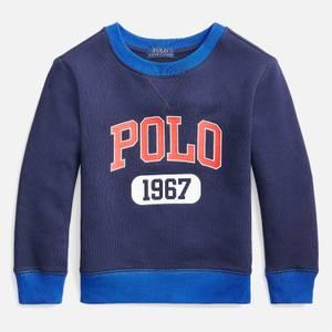 Polo Ralph Lauren Boys' Logo Sweatshirt - Newport Navy