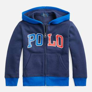 Polo Ralph Lauren Boys' Zip Through Hoody - Newport Navy