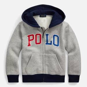 Polo Ralph Lauren Boys' Zip Through Hoody - Andover Heather